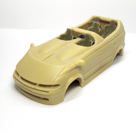 Carrosserie + Siège - Renault Espace Matra Sbarro - Résine - 1:43