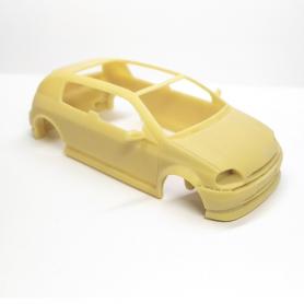 Carrosserie - Concept Renault Clio Coupé Sbarro 1998 - Résine - 1:43