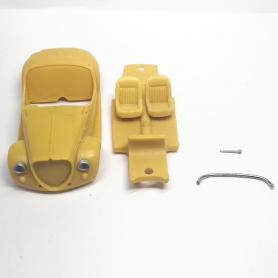 Carrosserie : Fiat 500 Gamine - Résine - 1:43