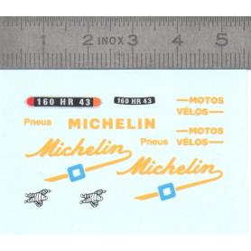 Décalcomanie - MICHELIN - Ech. 1:43