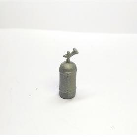 Extincteur Hauteur 17.40mm - Résine - 1:18