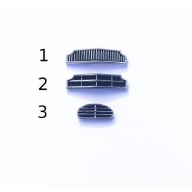 Calandre Peugeot 203 - Ech 1:43 - Peint en résine