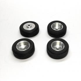 4 Pneus + Jantes Aluminium - Ø 15.80 Mm - CPC Production