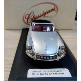 Citroën DS Cabriolet - Gété Bossaert - Échelle 1/43ème - CLASSIQUES