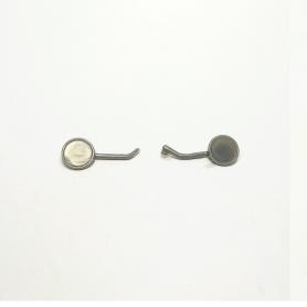 Paire de rétroviseurs pour Estafette - ø7mm - Résine - 1:18