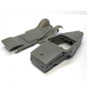 Bâche en résine - 50 X 37.50 mm  -  Ech 1:43