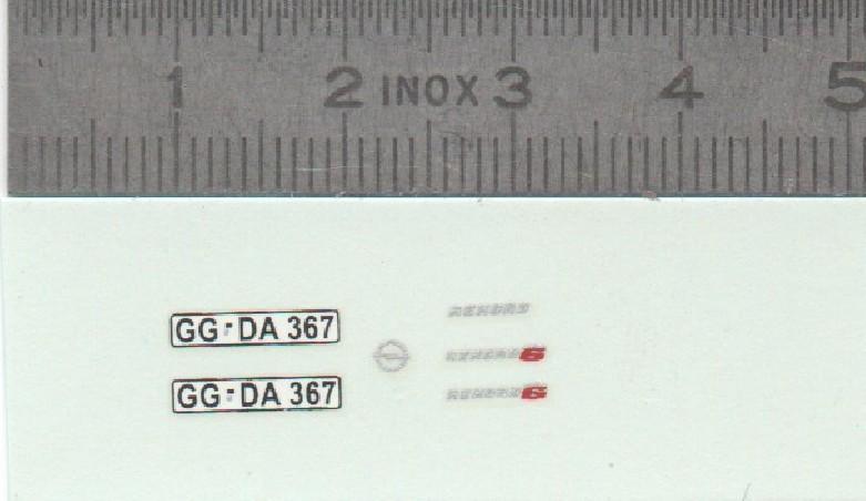 ECHELLE X 2 - Échelle 1/32ème - A32