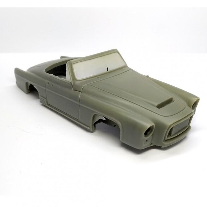 Incomplet : Kit GREGOIRE 1956 Cabriolet - Résine - 1:43