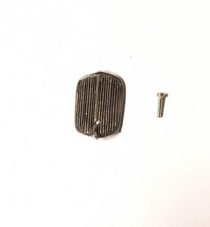Radiateur + Bouchon - Renault Monaquatre - Ech 1:43 - White Metal