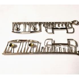 Pièces en métal pour Renault Monaquatre - Ech 1:43