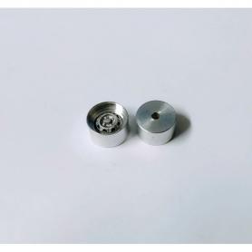 5 Jantes profondes en aluminium pour insert de ø 7.10 mm