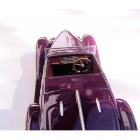 Tableau de bord + Volant - Bugatti Type 57 SC Shah D'Iran 1939 - Ech 1:43