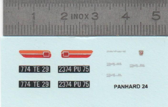 TRANSPARENT SHEET FOR DECALS (A4)