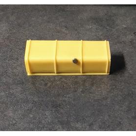 Réservoir de camions en résine - Bouchon metal - 47.50 mm - Ech 1:43