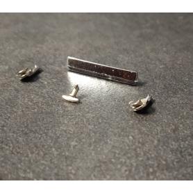 Peugeot 401 - Pièces métal arrière - Ech 1:43