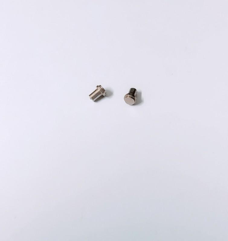 2 Bouchons de réservoir - Ech 1:43 - Laiton + Nickel