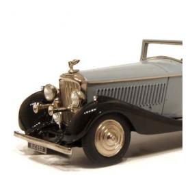 Pare-chocs avant - BENTLEY 3.5L Cabriolet Gurney Nutting - Metal - Ech 1:43