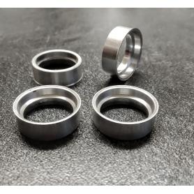 4 Jantes creuses en aluminium - Ø17.50 mm - CPC Production