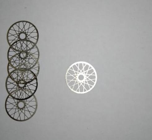 Lot de 10 rayons ø11mm pour jantes miniatures- Photodécoupe - CPC