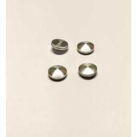 4 Inserts en aluminium- Ø 7.80 mm - Ech. 1:43