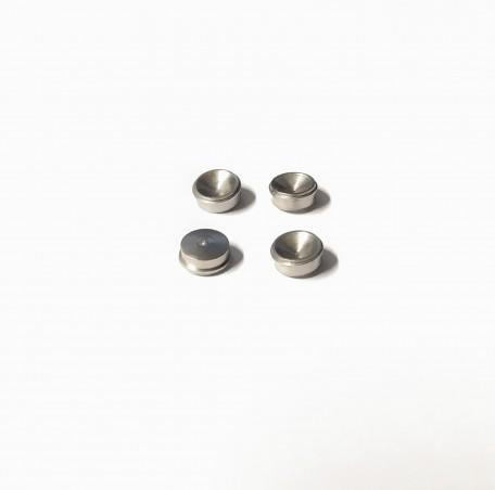 Inserts de roue Ø6mm en laiton traité - Ech 1:43 - CPC Production