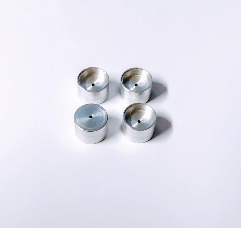 4 Jantes en Aluminium Ø 8.50mm -  Ech 1:43 - CPC Production