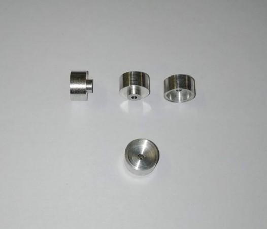 Aluminiumräder ø8,50 X 6 mm - CPC-Produktion - Verkauft von 5