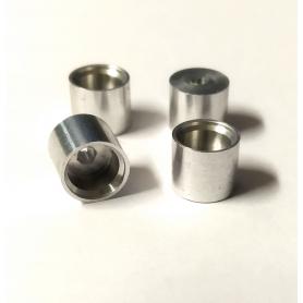 4 Jantes en Aluminium Ø 8.20 x 7.00mm -  Ech 1:43 - CPC Production