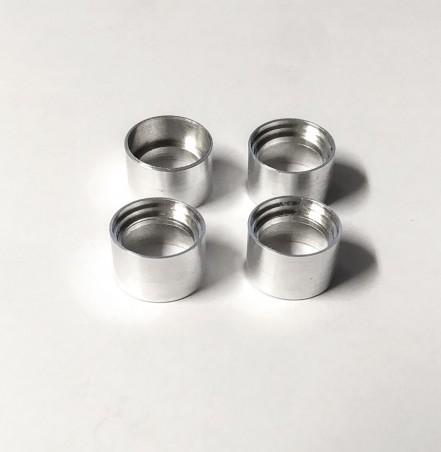 4 Jantes creuses en aluminium - Ø11.50 mm X 7 mm - CPC Production
