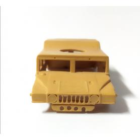 Carrosserie en résine - HUMMER version militaire - Ech 1:43