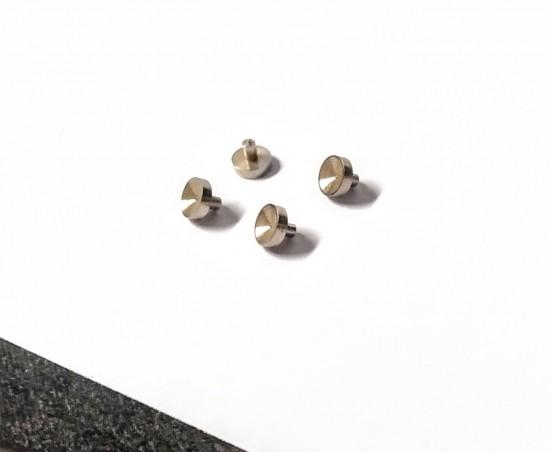 4 Supports de phares en laiton ø3.50 X 1 mm - CPC Production