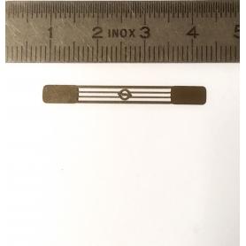 Calandre OPEL  - Photodécoupe - 1/43ème - 34.30 X 4 mm