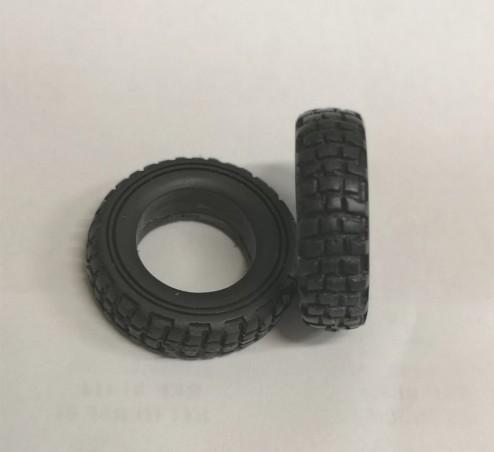 Pneus souples camions - Ech. 1:43 - Ø30 mm - A l'unité