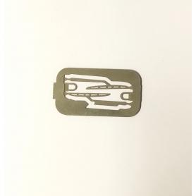 Essuie-glace en photodécoupe 15 mm - Échelle 1:43