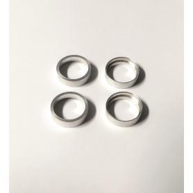 4 Jantes creuses en aluminium - Ø12.50 mm - CPC Production