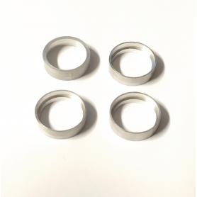 4 Jantes creuses en aluminium - Ø 14 mm - CPC Production