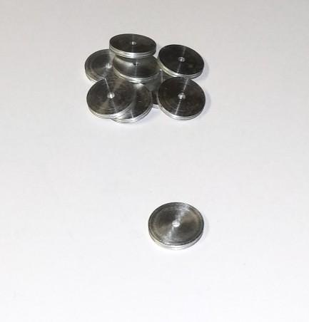 10 Disques en aluminium  Ø10.10 X Épaisseur 1.2 mm - CPC