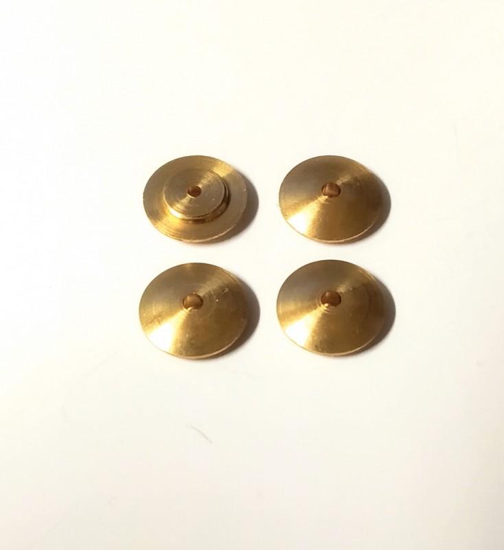 4 inserts en laiton  - Ø 10.75mm - CPC Production