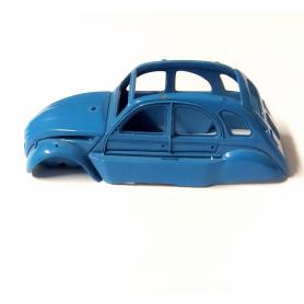 Carrosserie CITROEN 2CV Bleu - En l'état - 1:43