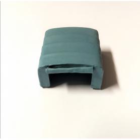 Bâche en résine - 42 X 37 mm - Bleu -  Ech 1:43