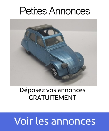 Petites annonces gratuite pour la voiture miniature à toutes les échelles