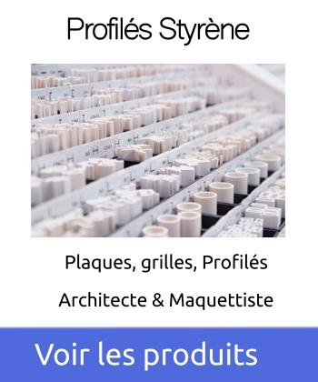 Maquett France, profilés et plaques pour maquettiste et architecte