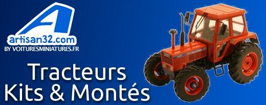 Miniature agricole par artisan32, les kits et les modèles montés au 1/32