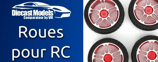 Roues et pièces pour voiture Radio Commandé