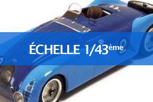 Echelle 1/43ème