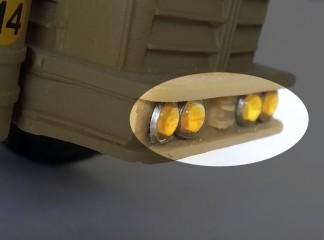 Réalisation de phares pour voitures miniatures