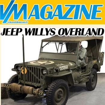 JEEP Willys Overland - Les modèles au 1/43ème
