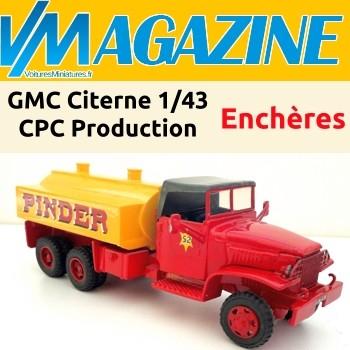 15/02/2021 - Le GMC Citerne Pinder aux enchères