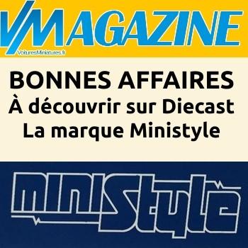 MINISTYLE, des miniatures Made in France à découvrir