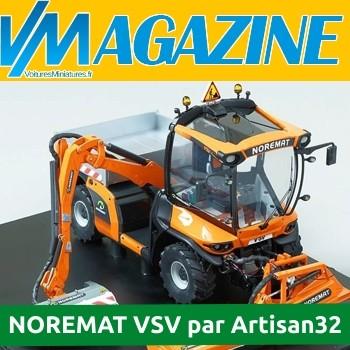 Artisan 32 : La version miniature du NOREMAT VSV (Véhicule service viabilité)